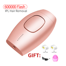 600000 flash professional permanent IPL epilator laser hair removal electric photo women painless threading remover machine