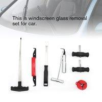 7 adet cam cam kaldırma seti araba Van cam kiti garaj el aletleri kauçuk toka cam tutkalı kazıyıcı iç Bar El Aleti Setleri    -