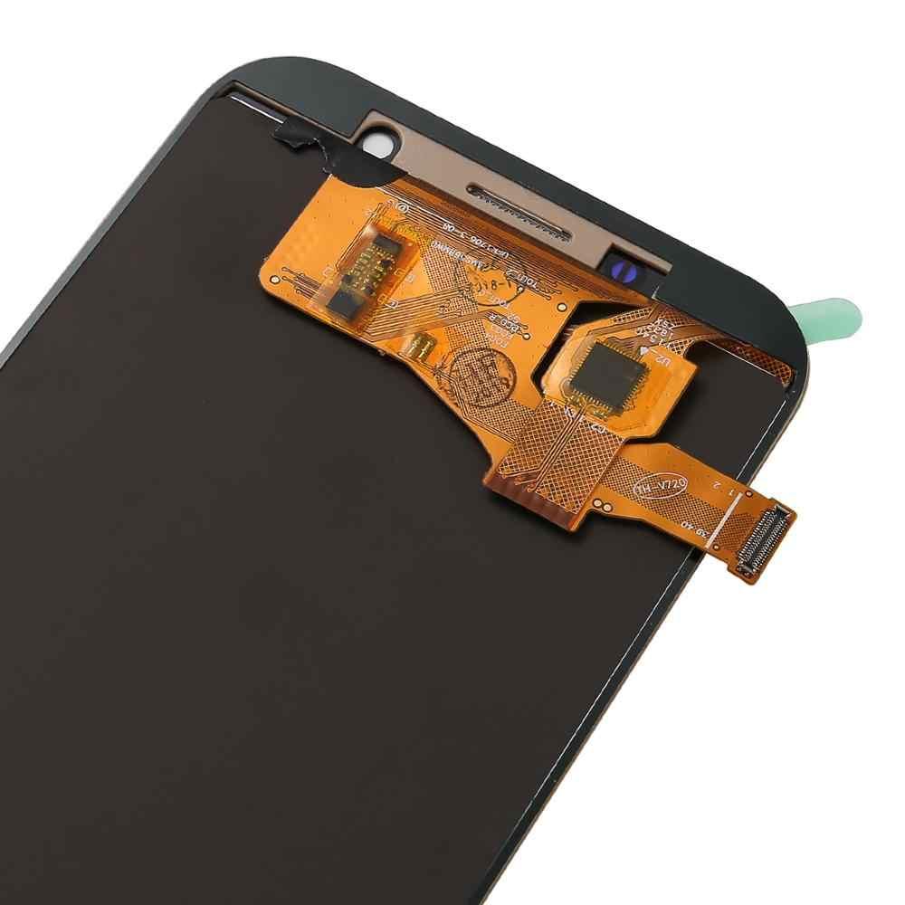 """5,7 """"LCD para el modelo samsung galaxy A7 pantalla 2017 A720 SM-A720F A720M pantalla LCD de alta calidad con montaje de digitalizador con pantalla táctil"""