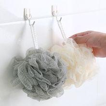 2019 new plain super soft bath flower bath ball large bath towel bath flower 50g