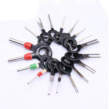 3 sztuk 8 sztuk 11 sztuk 18 sztuk wtyczka samochodowa drut z obwodu drukowanego uprząż Terminal ekstrakcji Pick złącze zaciskane Pin powrót igły usuń...
