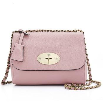 Exquisite Design Genuine Leather Women Handbag With Chain Strap