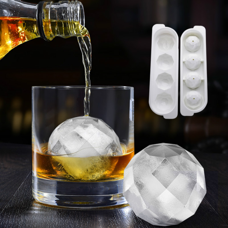 יפן מיובאת ויסקי קרח קוביית יצרנית כדור עובש עובש לבנים עגול בר Accessiories גבוהה באיכות צבע קרח עובש מטבח כלים