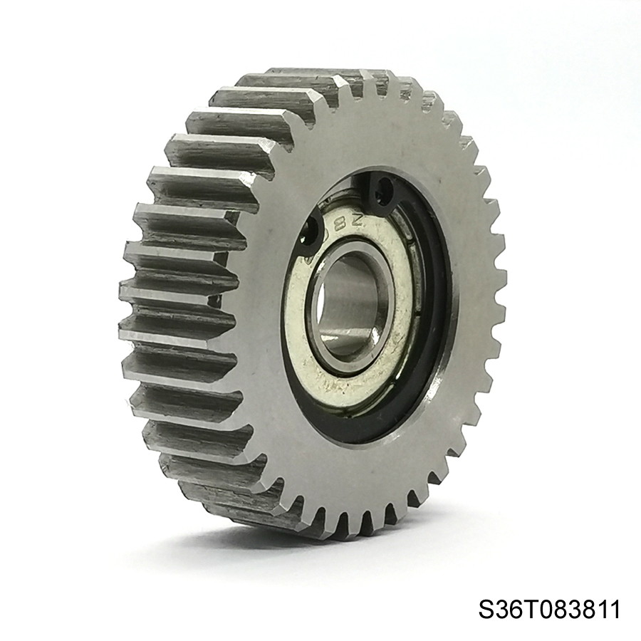 Steel 36 teeth 38mm electrical motor bicycle wheel bafang spur gear 8mm bore electronic bike tricycle 8fun iron metal gears