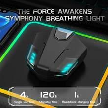 Novo Tws gaming headset bluetooth 5.0 graves pesados verdadeiros ruído redução estéreo fones de ouvido com microfone sem fio