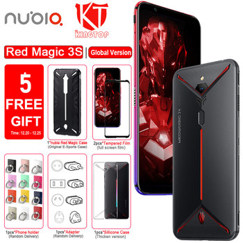 "Global Version Original ZTE nubia Red Magic 3S Mobile phone 8G 128G 6.65"" 90Hz Snapdragon 855 Plus 48MP+16MP 5000mAh Fastcharge"