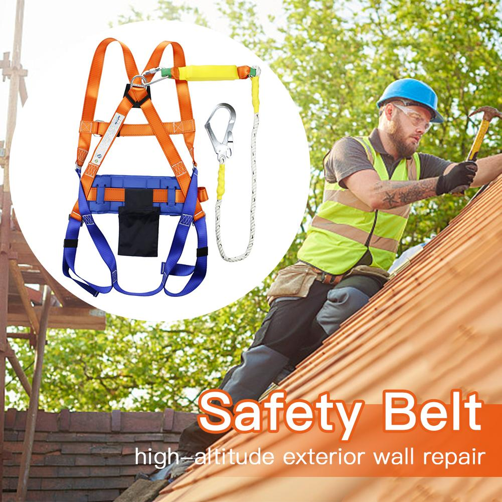 Professional Outdoor Sports Safety Belt Rock Climbing Full Body Harness Aerial Survival Equipment Anti Fall Protective Gear