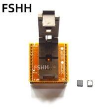 Программатор qfn8 в dip8 адаптер wson8 dfn8 mlf8 разъем для