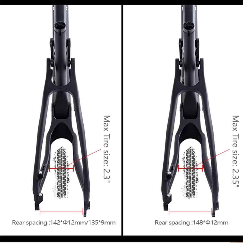 Nowy rower górski węgla 29 boost 142/148*12mm Shock pełna zawieszenie rama mtb 29er Downhill rower dla AM XC darmowa wysyłka