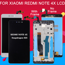 Dinamico 5.5inch LCD For Xiaomi Redmi Note 4X Display with frame Touch Screen For Redmi Note 4X Lcd Digitizer Assembly Parts все цены