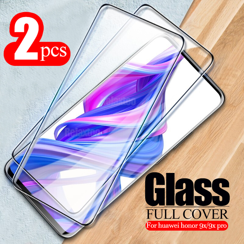 2pcs Honor9x Tempered Glass For Huawei Honor 9x Glass Screen Protector Premium Tempered Glass Honor 9X Pro 9 X Protective Film