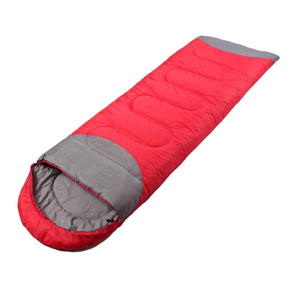 2017 New Top Quality Waterproof Sleeping Bag Outdoor Camping Hiking Travel Single Thick Carry Bed More Than 1350g 4colors Delicacies Loved By All