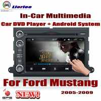 Car Radio DVD Player GPS Navigation For Ford Mustang 2005~2009 Android HD Displayer System Audio Video Stereo In Dash Head Unit