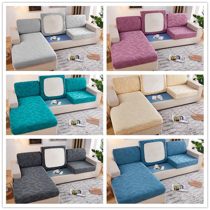 Высокое качество Толстые крышки для диван-кровать 3-местный диван Ipad Mini 1/2/4 жаккард эластичный стрейч угловой диван обложки гостиной L Форма