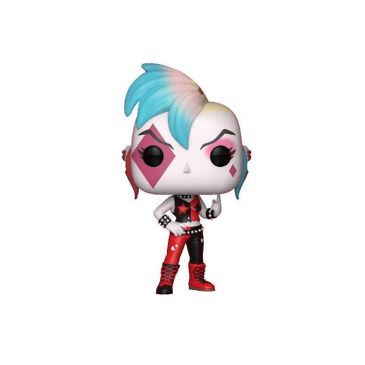 HOT anime batman super heroes figuras de ação 10 centímetros DC Punk Joker Harley Quinn brinquedos modelo coleção de bonecas PARA PRESENTES