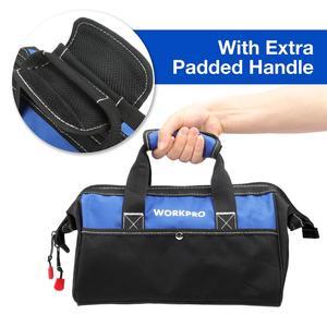 Image 3 - WORKPRO חדש יד חשמלית תיק כלי שקית עמיד למים אחסון תיק