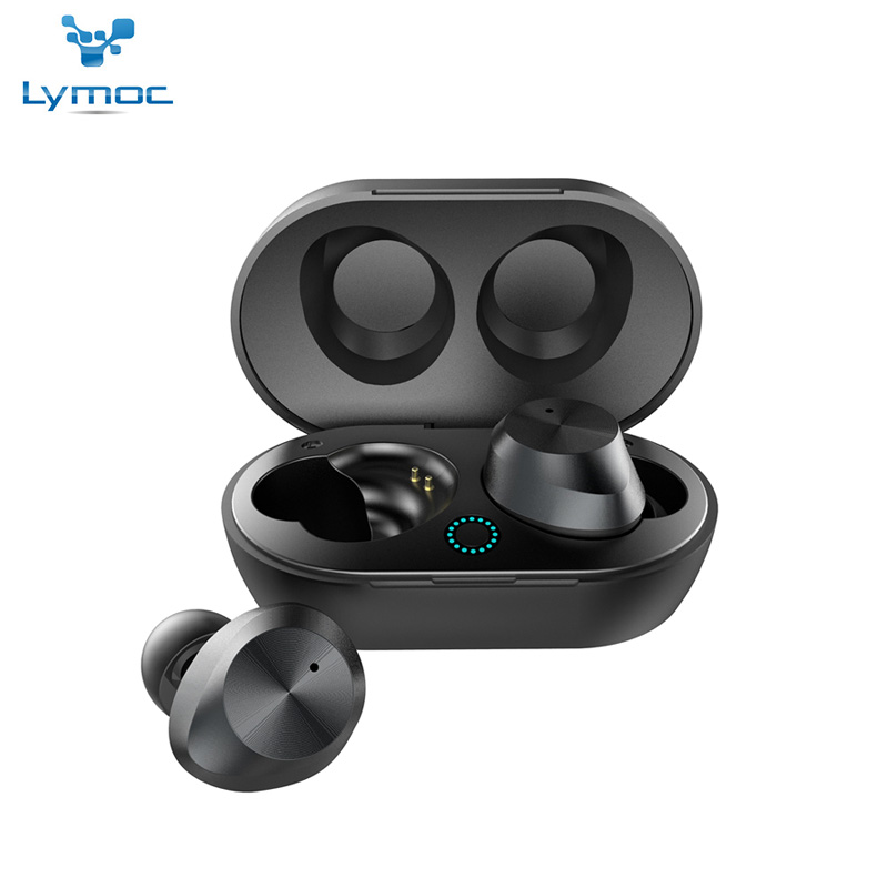 LYMOC TWS9 Ture Wireless Headsets Bluetooth Earphones 5 0 Touch Control 4D Stereo Sound Headsets Sport