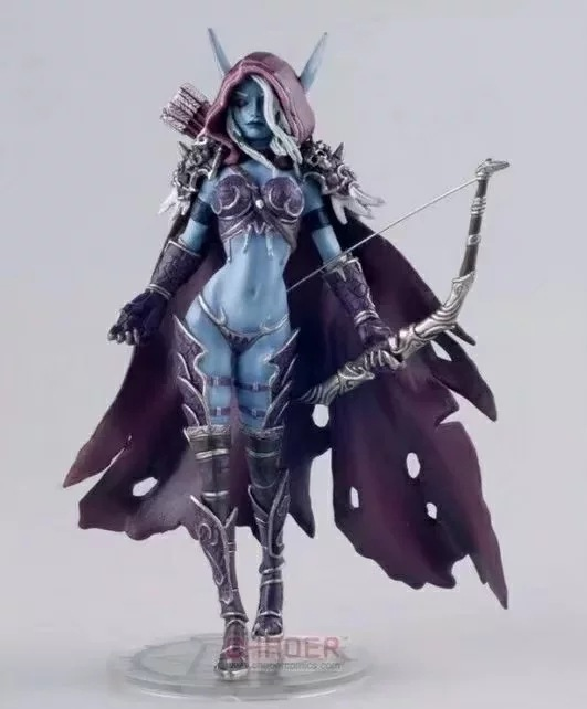 14.5cm World Of Warcraft Sylvanas Windrunner Static Action Figure High Quality Pvc Figurines Colection Toys