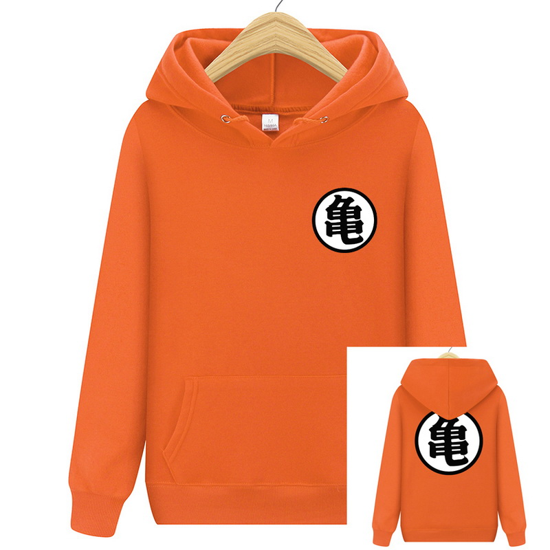 2019 Men Dragon Ball Hoodie Orange Pink Autumn New Spoof Cartoon Fashion Dragon Ball Printing Cotton Men Hoodies Sweatshirts