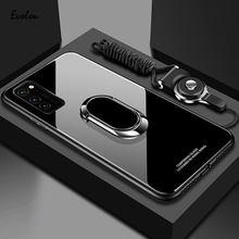 Samsung Galaxy M51 durumda temperli cam standı halka kapak Samsung A01 M01 çekirdek not 20 Ultra A51 A71 5G A21S M31 Case arka