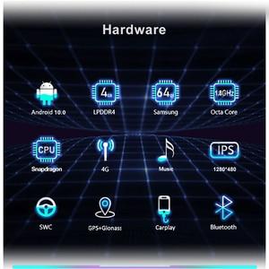 Image 3 - 8 Core Snapdragon Car IPS Screen Stereo For BMW F20 F21 F22 F23 2018 2020 EVO Android 10.0 GPS Google WIFI 4G Carplay 4+64G RAM