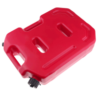 10L Red Gas Diesel Oil Petrol Fuel Spare Tank Container For Car & Motorcycle Use