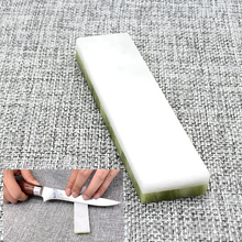 Double-sided Natural agate a lot of grit professional sharpening whetstone for kitchen knife Honing stone Fixed angle sharpener