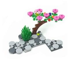 Compatible Assembles Particles 4150 Tile 2x2 1x1 Building Blocks Parts DIY Enlighten Block Special Bricks Educational Tech Toys
