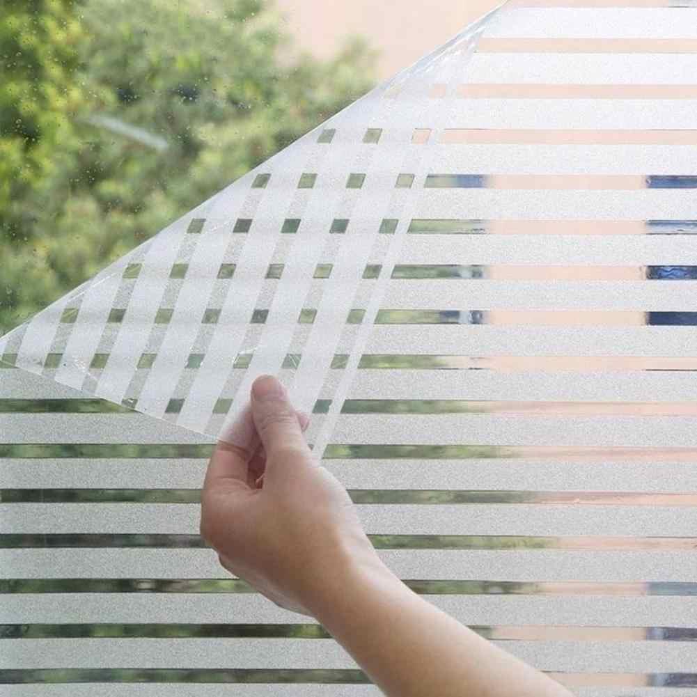 Аксессуары для кухни полосатая наклейка матовое стекло раздвижные двери ванная комната оконная пленка офисный светильник против столкновений прозрачный opaq