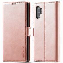 جراب هاتف خلوي من الجلد غير اللامع مع رفرف مغناطيسي ، جراب لهاتف Samsung Galaxy Note 9 ، 10 Plus