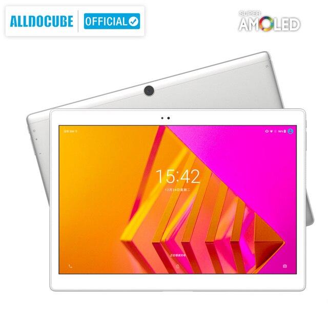 Ветвью Alldocube X Neo Android 9,0 Dual Core 4 аппарат не привязан к оператору сотовой связи планшеты Snapdragon 660 4 Гб Оперативная память 64 Гб Встроенная память 10,5 дюймов Super Amoled Экран 2,5 k 2560 × 1600 IPS