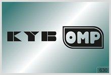 Pour KYB OMP x2. pièces Autocollants-décalcomanies de haute qualité-différentes couleurs 630