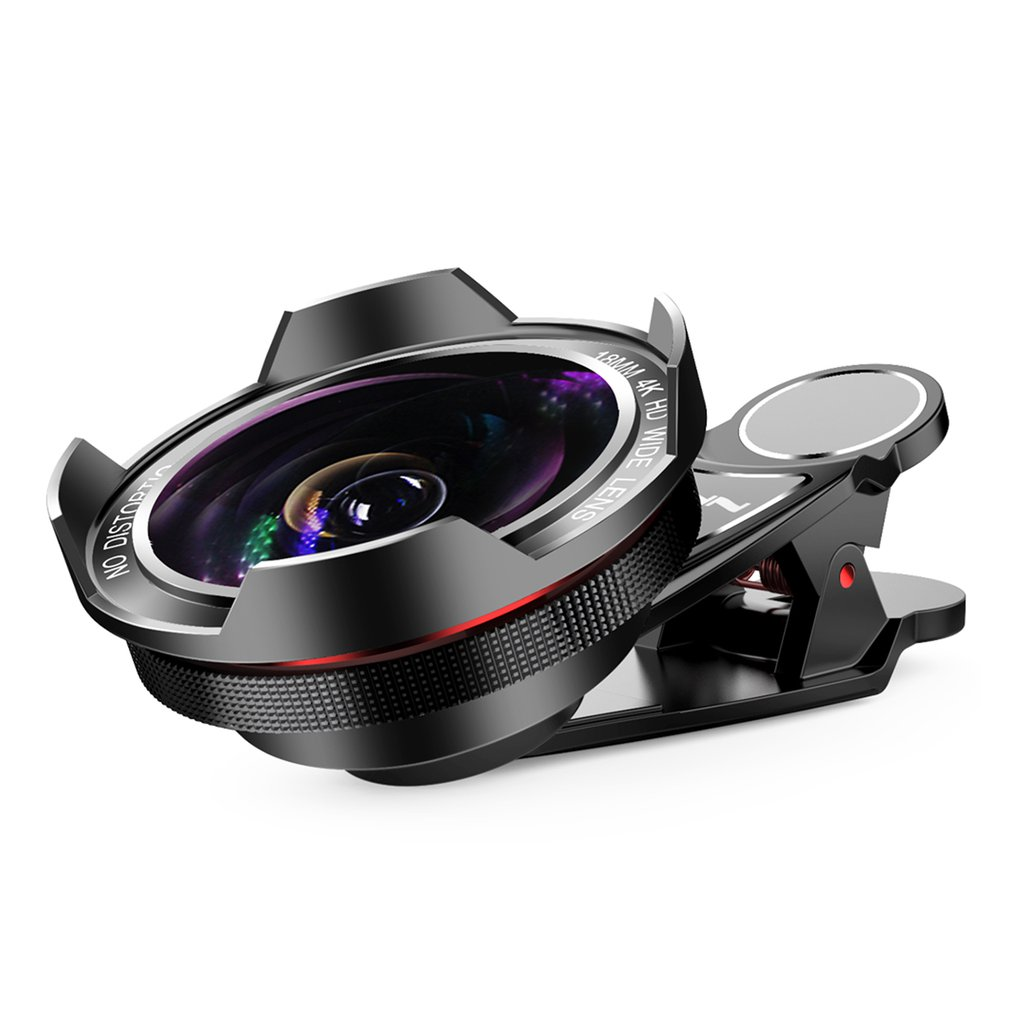 Mobile-Phone-Lens Wide-Angle Universal External SLR 18MM HD Distortion-Free Professional title=