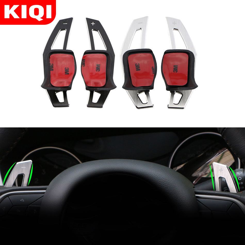 Car Steering Wheel Shift Paddles Fit <font><b>for</b></font> Volkswagen <font><b>VW</b></font> <font><b>Golf</b></font> <font><b>6</b></font> MK6 <font><b>GTI</b></font> Jetta MK5 POLO Passat B6 CC Scirocco R36 R20 <font><b>Accessories</b></font> image