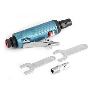 Image 3 - Meuleuse pneumatique, outil de sculpture, machine à graver et à polir, moule pneumatique, polisseuse argent/Blauw