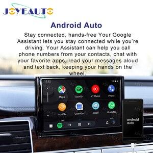 Image 4 - Joyeauto אלחוטי Apple Carplay לאאודי A1 A3 A4 A5 A6 A7 A8 Q3 Q5 Q7 C6 MMI 3G 2G RMC 2005  2018 iOS13 אנדרואיד מראה רכב לשחק