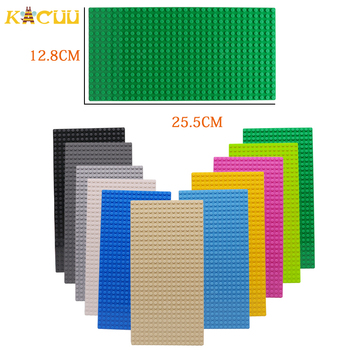4 Size 33 Styles Plastic Assembly Blocks Base Plates Figures City Classic Toys Building Blocks Baseplates Toys For Children Gift 3