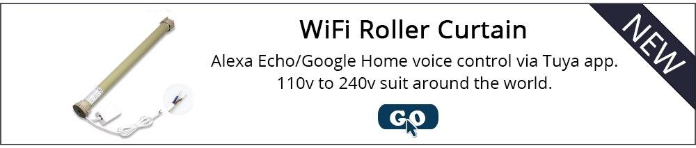 wifi 卷帘电机