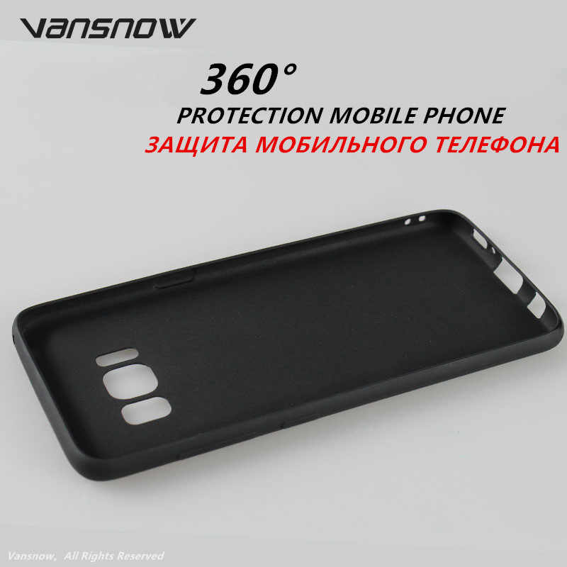 Vansnow Luxury Phone Case For Samsung Galaxy A7 A9 A8 J4 J6 Plus 2018 S8 S9 Plus Note 9 8 J3 J5 J7 A6s Back Cover Freeshipping