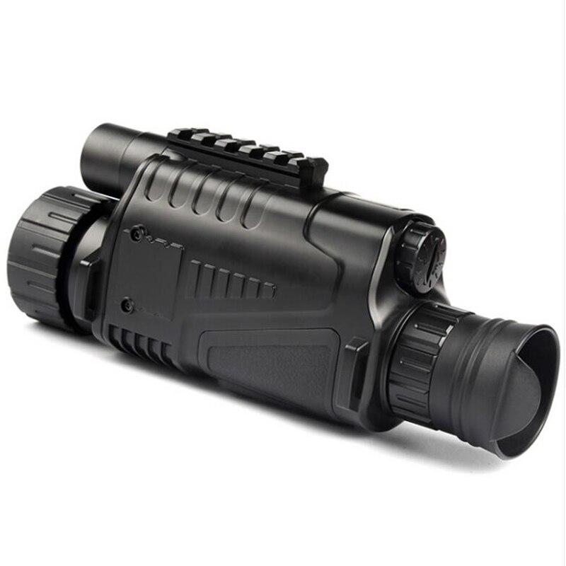 Vision nocturne infrarouge monoculaire 5X40 Zoom lunettes de Vision nocturne 200M Distance Observation nocturne et numérique Ir chasse D - 5