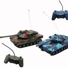 Educational Car-Tank Remote-Control 2pcs/Lot Christmas-Toy Collision Anti-Fall Children's