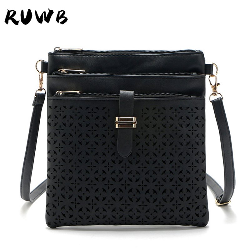 RUWB Luxury Handbags Women Bags Designer Hollow Out Small Shoulder Bag Lady Evening Day Clutches Messenger Bags Sac A Main Femme