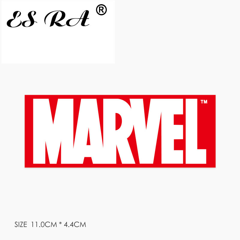1 Piece Marvel Laptop Sticker Waterproof PVC Anime Logo Stickers Toys Laptop Pitcher Bottle Luggage Notebook Decorate For Kids