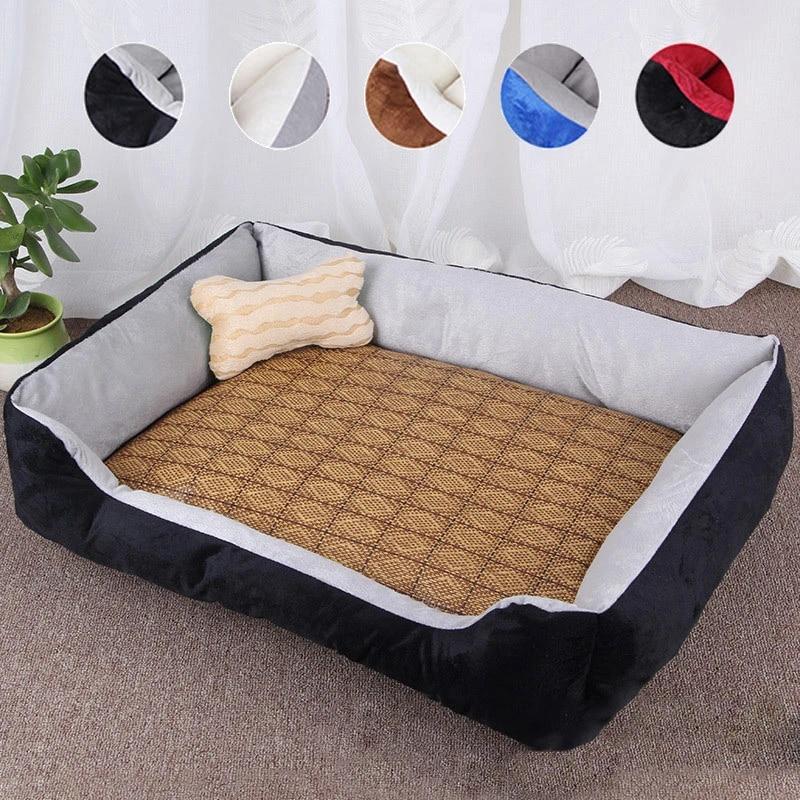 Summer Pet Bed Dog Pillow Beds Pad Mat