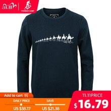 Pioneer Camp neue herbst Winter mode männer hoodies casual baumwolle verdicken fleece männlichen pullover trainingsanzug herren crewneck sweatshirt