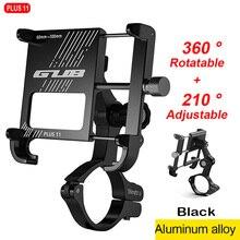 GUB Plus 11 360 Rotierenden fahrrad handyhalterung Aluminium Motorrad telefon holde Bike Lenker handy stents