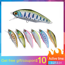 D-Incite minnow lure 53S 44 mm 3.5g  trout sinking  hard bait  lures various colors isca artificial outdoors рфс рфс p840301 53s