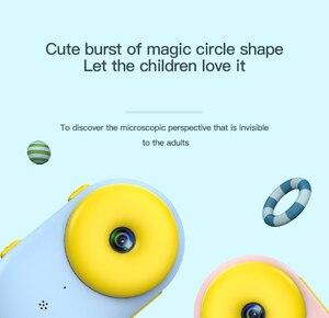Image 2 - 2.4 אינץ ילדי דיגיטלי מצלמה HD 1080p wifi Dual עדשת Ip68 עמיד למים ילדי מצלמה מתנת יום הולדת מגניב לילדים