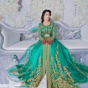 Мусульманское вечернее платье merald Green, недорогие вечерние платья с длинным рукавом, с дизайном Абайи, Дубай, для выпускного вечера