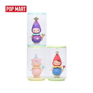Image 3 - POPMART Toy Display Cans Random Plastic box gift free shipping